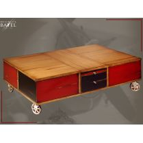 Table basse Rolling Box