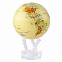Globe terrestre Antique Beige