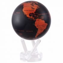 Globe terrestre Copper Black