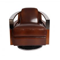 Copie de Fauteuil club Madison Cuir Vintage